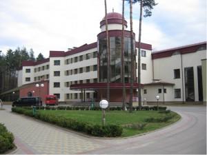 2007 год. Реконструкция пансионата Свитязь Новогрудского района