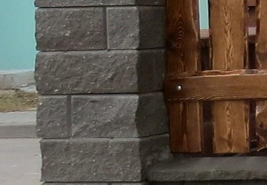Дек забор столб серый